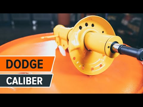 How to replace front shock absorbers DODGE CALIBER TUTORIAL AUTODOC