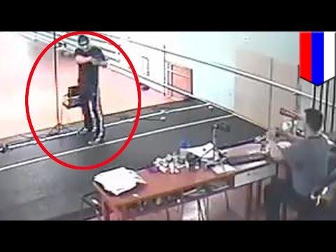 Student shoots coach dead: Russian Olympic student Jamshedj kills trainer at Novokuznetsk range