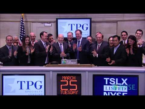 TPG Specialty Lending Celebrates IPO on the NYSE