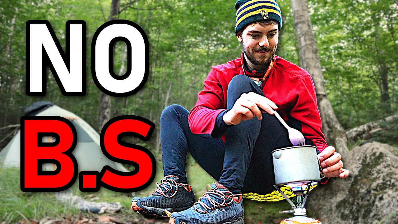 All the BACKPACKING FOOD I'm eating for a 3 day trip (no BS)