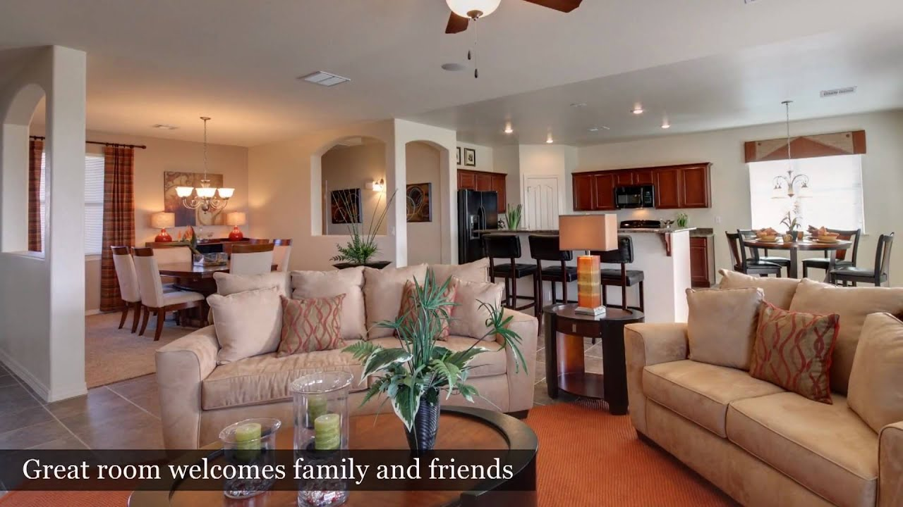 3 bedroom home el paso tx capistrano model by carefree for New homes in el paso tx