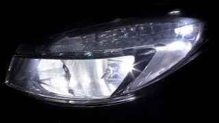 Ставим LED G10X на Opel Insignia, переосветили салон и заменили габариты