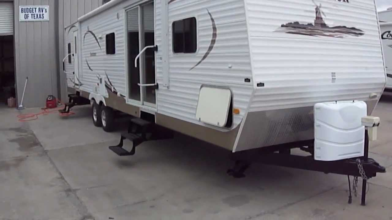 2008 dutchmen 38b bumper pull bunkhouse travel trailers for sale youtube. Black Bedroom Furniture Sets. Home Design Ideas