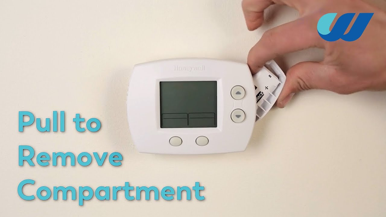 How to: Change the Battery in a Honeywell Thermostat