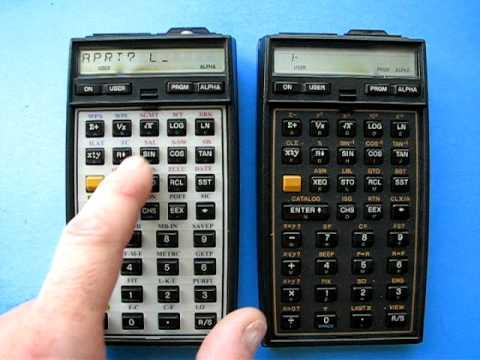 Bushwalk Australia • View topic - Calculator: HP-41CX PC