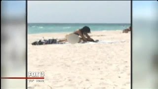 Couple Caught Having Sex On The Beach @hodgetwins
