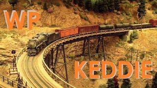 Jim Dias's HO scale WP Western Pacific Model Train Layout ~ Keddie Wye & Portola