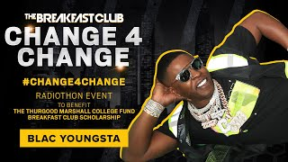 Blac Youngsta Digs In His Pockets For #Change4Change