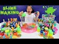 Mixing All My Slimes DIY Giant Slime Smoothie Toys AndMe mp3