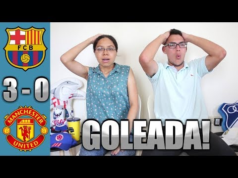 Reacción Barcelona vs Manchester United 3-0 (16/04/19) Champions League 2019