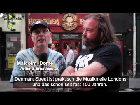 Denmark Street In London - Straße Des Rocks