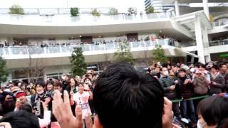 私立恵比寿中学 デフスターレコーズ調印式「瑞季」入場(2012/03/04)