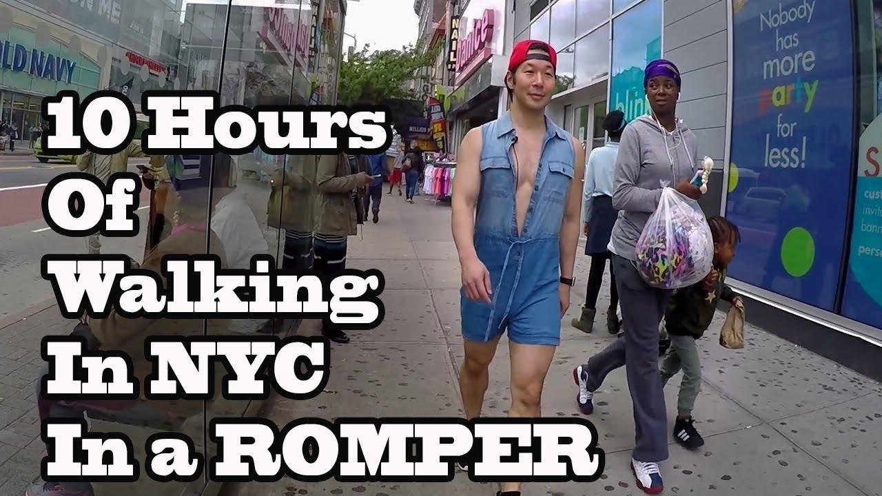 ddf6de36704 10 Hours of Walking in NYC wearing a Romper - YouTube