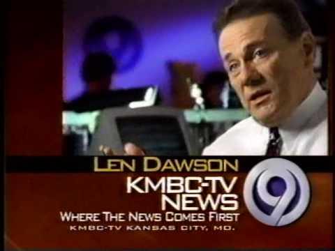 KMBC-TV Bumper with Len Dawson 1995