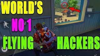 Flying Hacker in free fire || world's No1  Free fire hackers|| Run Gaming