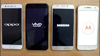 Oppo F3 Vs Vivo V5s Vs Moto G5 Plus Vs Samsung J7 Prime SpeedTest Comparison IHindi
