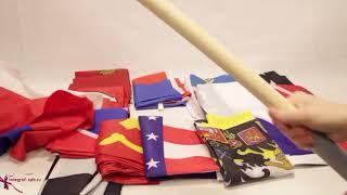 Пиратский флаг (с саблями)