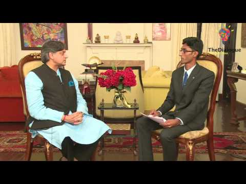 In conversation with Dr. Shashi Tharoor