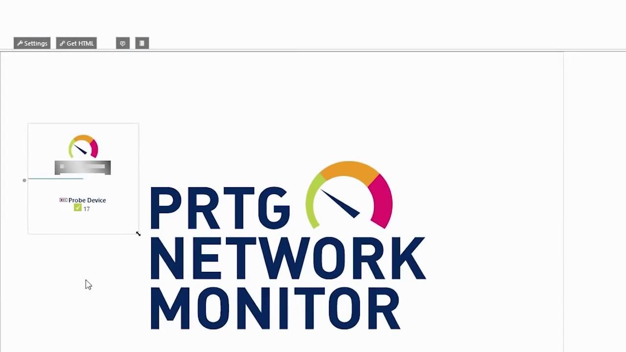 PRTG Creating Maps
