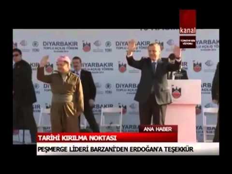Cumhurbaşkanı Erdoğan; Barzani Ve Perver'le Kol Kola.. (şok Olacaksınız)