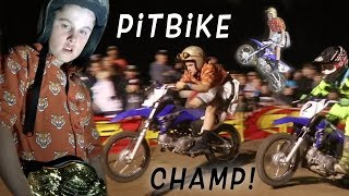 Dangerboy Wins World National Pit Bike Championships at Mini O's!