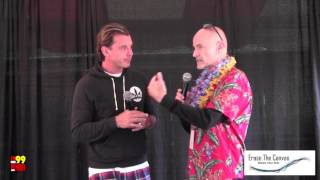 Gavin Rossdale - Bush Interview - FM99 Lunatic Luau '16 - WNOR