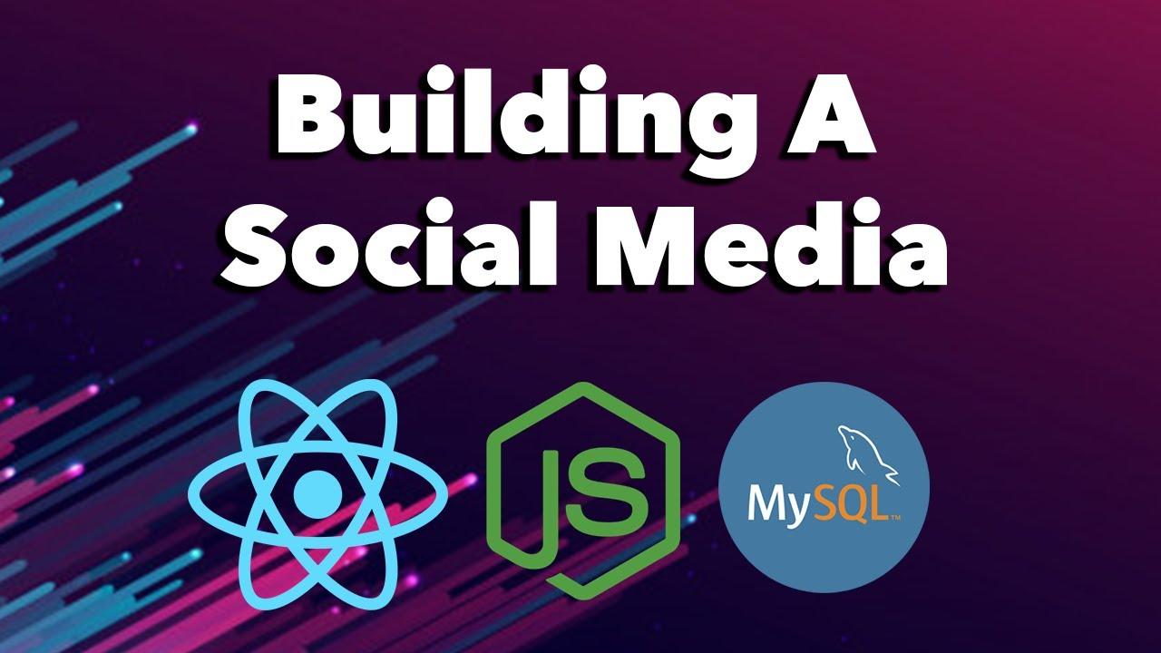 Coding Livestream - Building A Social Media W/ ReactJS, NodeJS, MySQL