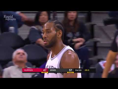 LA Clippers vs San Antonio Spurs - Full Game Highlights  Dec 18- 2017 _ NBA Season 2017-18