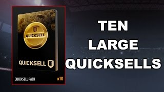 10 LARGE QUICKSELLS!! MUT 17