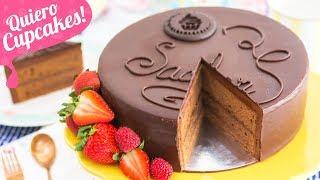 TARTA SACHER  LA RECETA PERFECTA  Quiero Cupcakes!