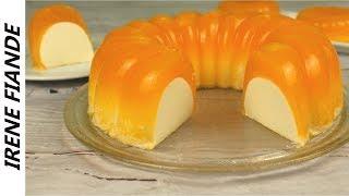 Тающее во рту лакомство для жарких летних дней.  Желейный торт, который не испортит фигуру!
