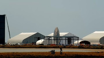 Lab Cam Live! 24/7 SpaceX Boca Chica Starship Construction and Launch Facility