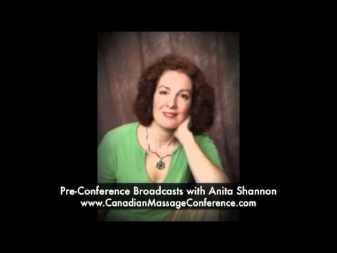 MediCupping Pre-Conference Broadcast with Anita Shannon - Canadian Massage Conference