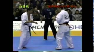 第34回全日本空手道選手権大会 決勝.