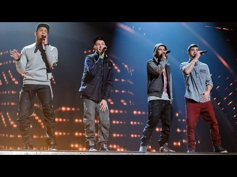 The Mend - Britain's Got Talent 2012 Live Semi Final - UK version