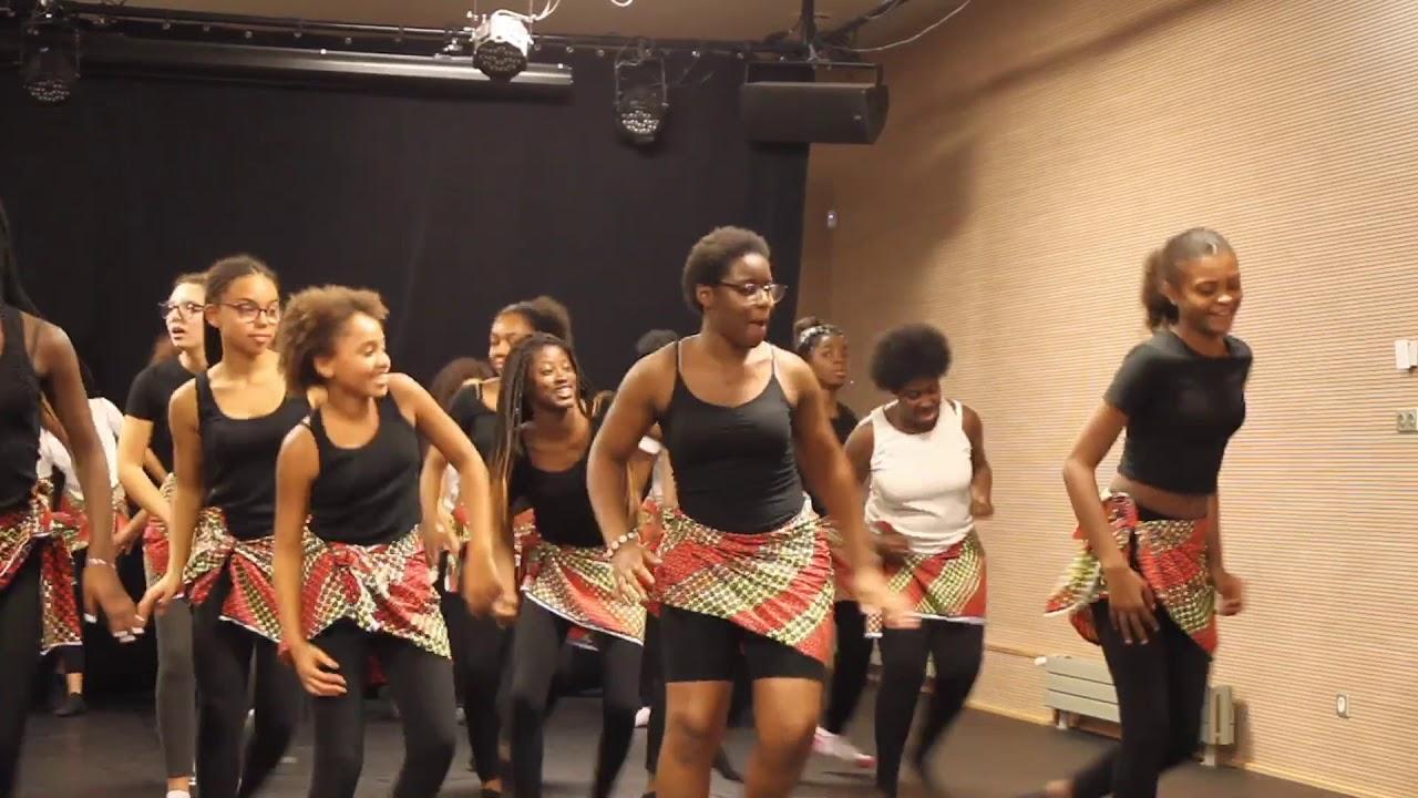 Cours De Danse Africaine Keane Dansons A L Africaine Youtube