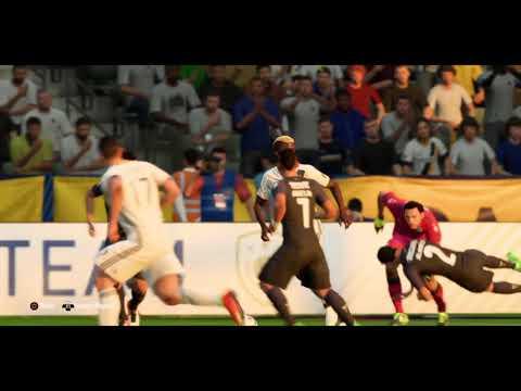 FIFA 18 Zardes Tucks It In