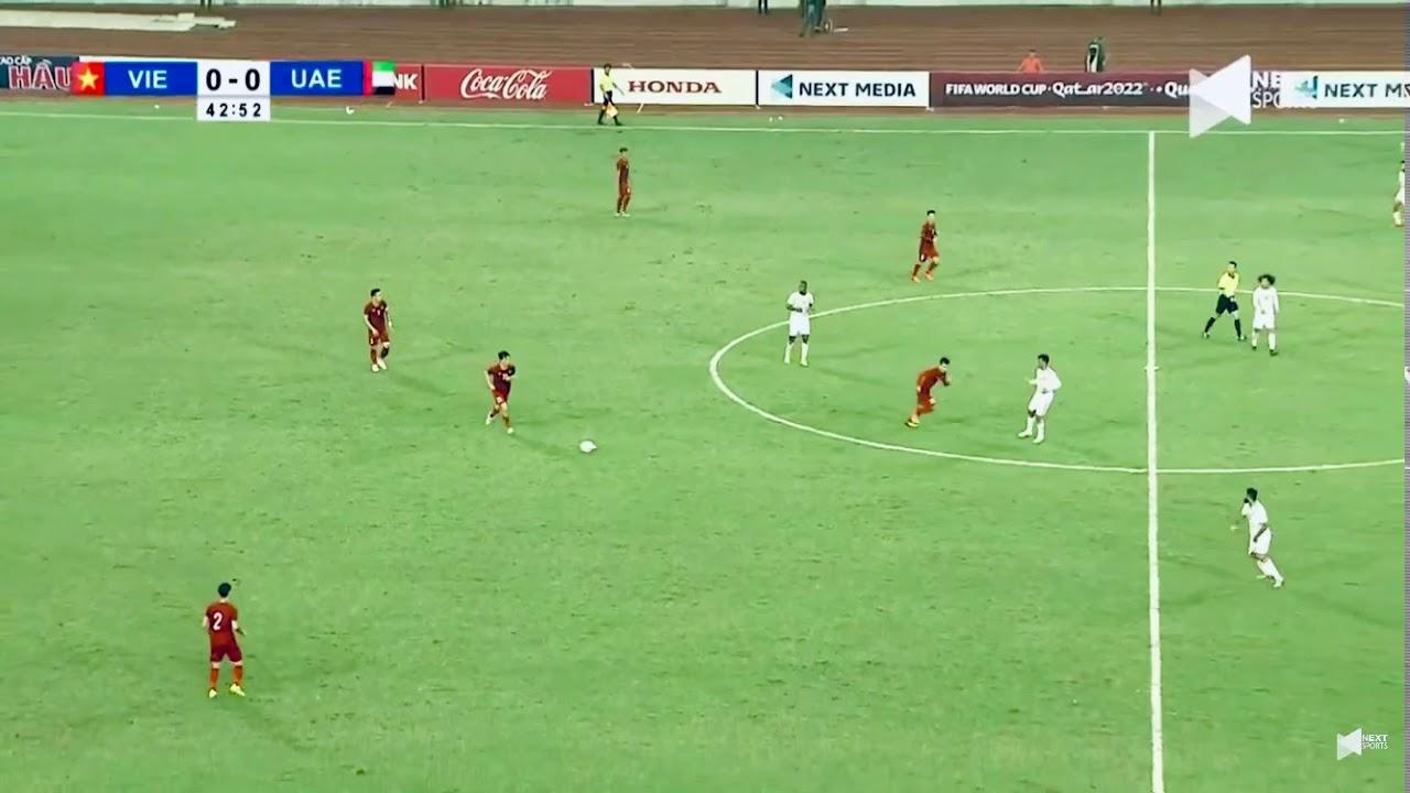 Vn vs uae việt nam với uae 14/11/2019 tiến linh 22 gi bàn thắng mở tỉ số 1-0