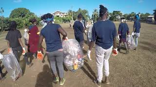Ethic action éco responsable collège Mgombani Mayotte