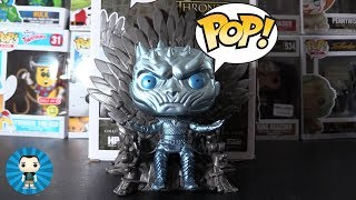 HBO Metallic Night King on Iron Throne (GoT) Funko Pop Unboxed!