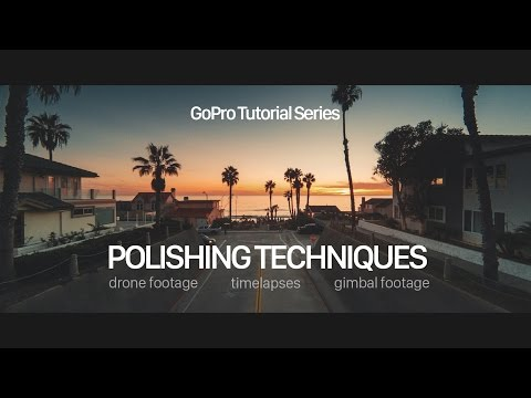 GoPro Tutorial - Fisheye Removal & Polishing for Drone Footage & More