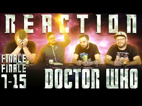 """Doctor Who 7x15 REACTION!! """"The Time Of The Doctor"""""""