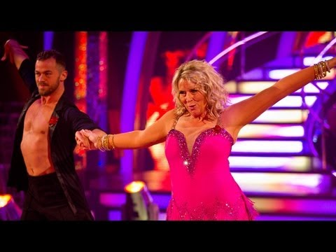 Fern Britton & Artem Salsa to 'You'll Be Mine (Party Time)' - Strictly Come Dancing 2012 - BBC One
