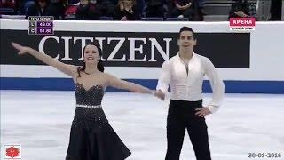 Anna CAPPELLINI/Luca LANOTTE (Ita) Bratislava 2016 Campionati Europei Medaglia d