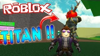 SURVIVING THE ATTACK OF TITANS ! ROBLOX ? Titan Simulator