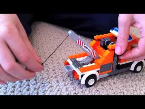 Review of Lego Tow Truck Set 7638 - YouTube