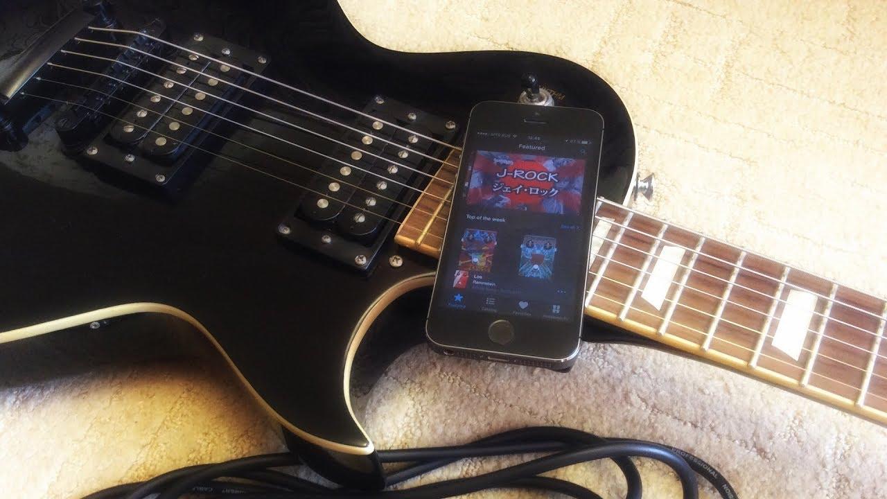 Играем на электрогитаре через смартфон. Tonebridge Guitar Effects #2: iOS