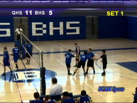 BHS Boys Volleyball vs Quincy 041216