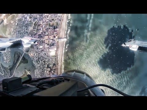 Ride On A Thunderbird Over Atlantic City Cockpit View 2018