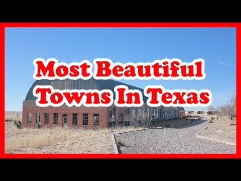 The 5 Most Beautiful Towns In Texas | US Travel Guide